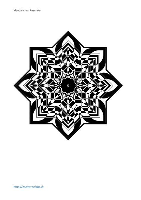 27 Mandala zum Ausmalen (Erwachsene & Kinder) | Muster