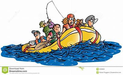 Rafting Water Clipart River Raft Cartoon Clipground