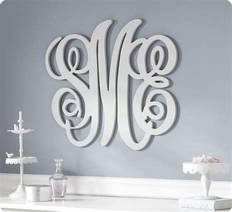 custom wood wall monograms   knockoffdecorcom