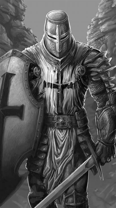 Knight Warrior Tattoo Fantasy Iphone Templar Tattoos