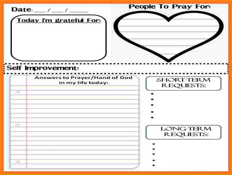 Prayer Journal Template 10 Prayer Journal Template Manual Journal