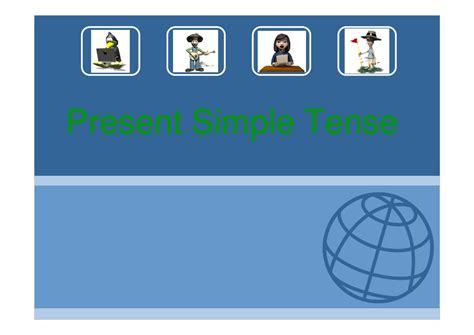 Present Simple Tense Power Point