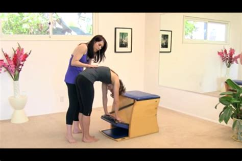Wunda Chair Pilates Exercises by 1 Pilates Wunda Chair Exercise To Be Your Bff