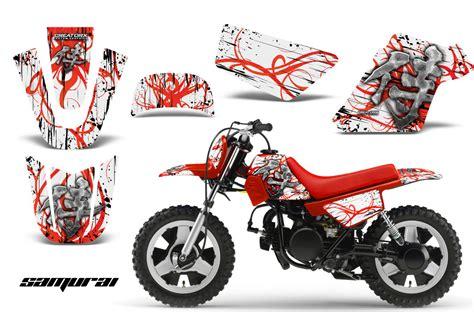 kit deco pw 50 yamaha pw50 creatorx graphics kit decals samurai rw ebay