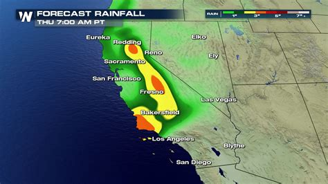 california today tomorrow flooding weather forecast bakersfield potential rainfall fresno redding inches rest am