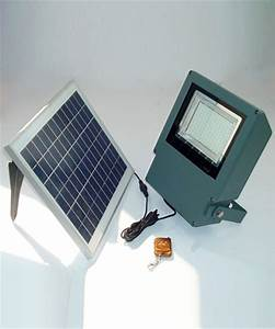 Smd led solar flood light with remote control