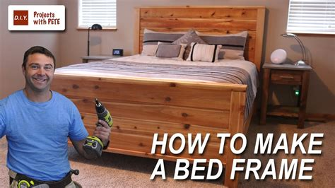 How To Make A Bed Frame With Headboard And Footboard by How To Make A Bed Frame With Free Size Bed Frame