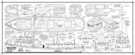 easy    scale  model boat plans sail boat plan
