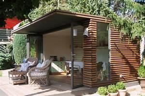 Gartenhaus Mit Glasfront : kubisch gartenhaus von fmh metallbau bild 8 sch ner wohnen ~ Markanthonyermac.com Haus und Dekorationen