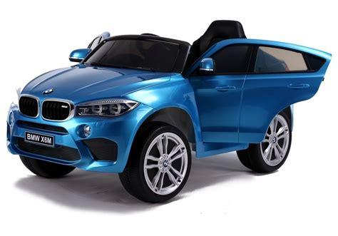 auto für 3 kinder kinderfahrzeug kinderauto bmw x6 blau lackiert auto f 252 r kinder 3 elektrofahrzeuge autos