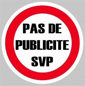 Pas De Pub Merci : pas de publicite pub merci svp boite a lettres 75mm ~ Dailycaller-alerts.com Idées de Décoration