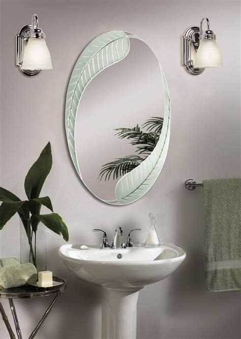 Oval Vanity Mirrors For Bathroom by Best 25 Oval Bathroom Mirror Ideas On Half
