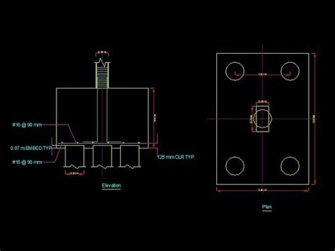 pile foundation design  staad pro lesson  youtube