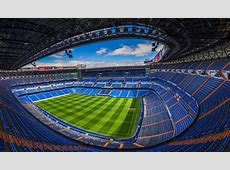 Santiago Bernabeu Real Madrid Futbol Club Stadium
