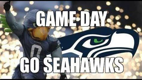 game day  seahawks seahawk love pinterest