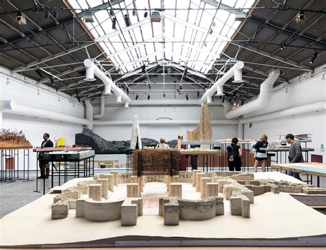 Peter Zumthor Puts A 'workshop' Of Models On Display At Venice Biennale