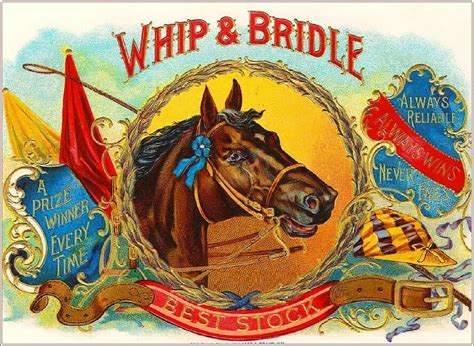 Different addresses in a mailing list. Whip & Bridle Horse Vintage Cigar Tobacco Box Crate Inner ...