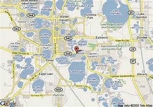 Map of Lake Roy Beach Inn, Winter Haven