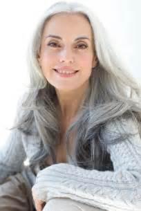 Beautiful Gray Hair Models