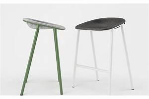 De Vorm LJ2 pet velt duurzame stoel van vilt (TIP)