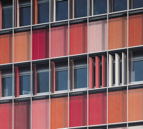 colorful folding perforated panels sh  berlin
