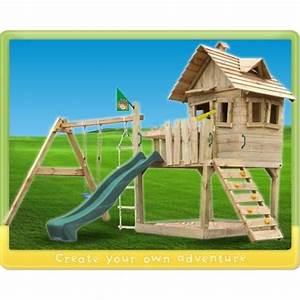 Aire De Jeux En Bois Pour Particulier : aire de jeux en bois ~ Dailycaller-alerts.com Idées de Décoration