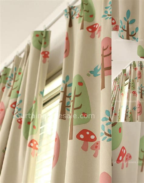 Cute Blackout Pinch Pleat Kids Curtains  Bedroom Curtains