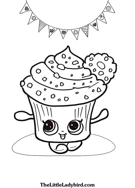 shopkins coloring pages  kids  high quality