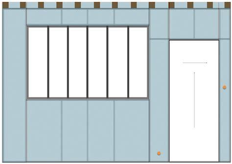 cuisine atelier artiste construire une cloison en place pouvant accueillir une