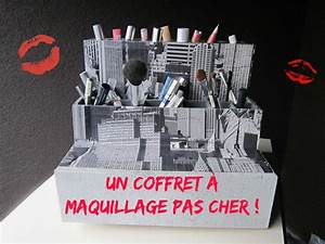 Boite De Rangement Maquillage : un coffret maquillage pas cher cartonrecup ~ Dailycaller-alerts.com Idées de Décoration