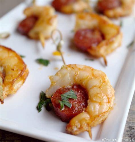 avocat cuisine recette brochettes de crevettes au chorizo