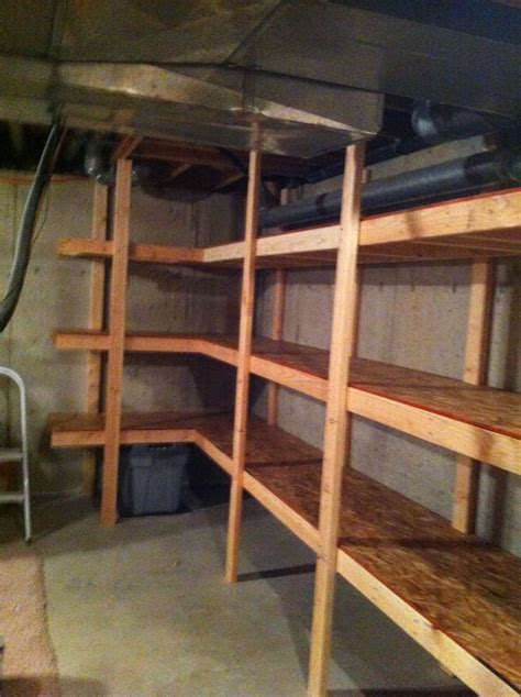 basement storage reveal diy shelving pool table