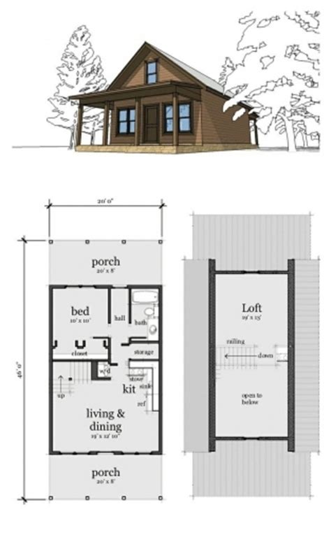 inspiring cabin plan with loft photo one room cabin with loft plans house floor plans