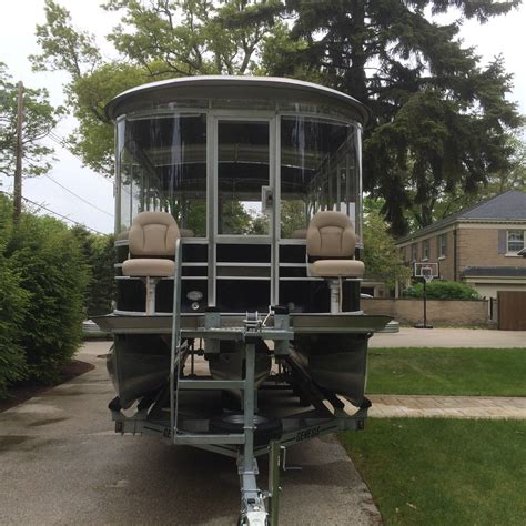 Pontoon Boats With Cabins For Sale by Pontoon Cruiser Luxury Edition Cabin Cruiser Cer 2015