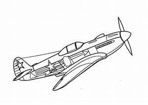 Fighter P Lanes Colouring Pages