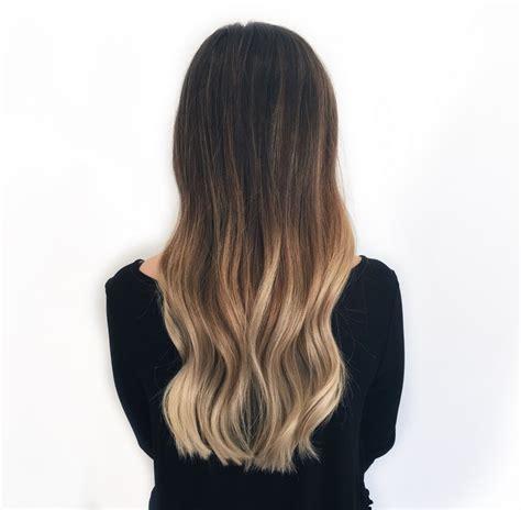 braune haare ombre style ombre blond klassisches ombre look braune haare ombre blond f 252 r braune und haare