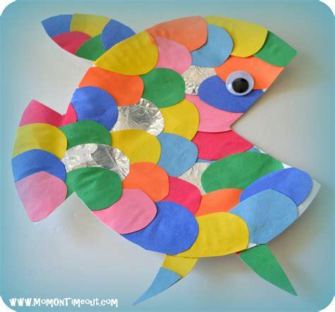 Construction Paper Crafts #4  School Activities