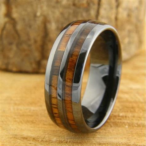 wooden wedding rings vancouver canada s most unique mens wedding rings tungsten rings northern royal llc