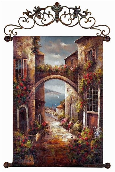 Tuscan Wall Decor For Kitchen by Best 25 Tuscan Decor Ideas On Tuscany Decor