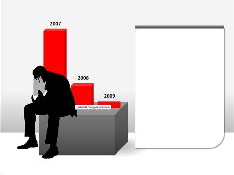 financial crisis  templates  powerpoint