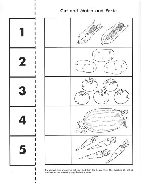 free cut and paste worksheets for pre k farm animal cut