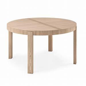 Table De Cuisine Extensible : table de repas ronde extensible atelier meubles et atmosph re ~ Teatrodelosmanantiales.com Idées de Décoration
