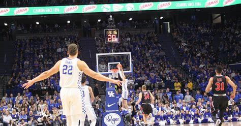 kentucky wildcats basketball  tennessee state game time