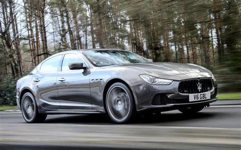 Gambar Mobil Maserati Ghibli by Maserati Ghibli Review Is There Substance To Go With The
