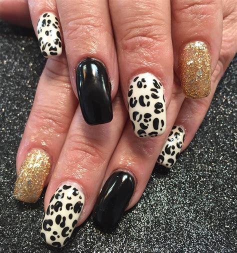 leopard nail art designs ideas design trends
