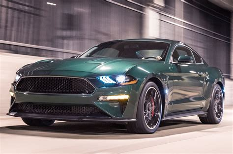 2019 Ford Mustang Bullitt Is Back For Film's 50th
