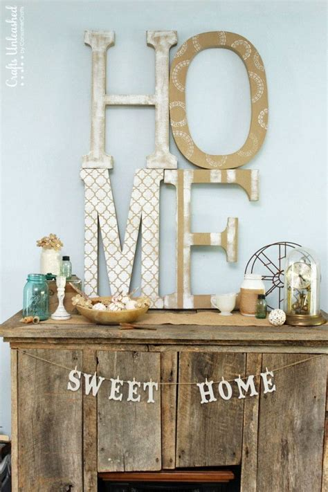 awesome diy ideas  making   decorative letters