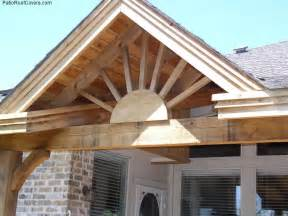 Gable Patio Roof Designs