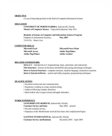 computer engineer internship resume engineering resume template 32 free word documents free premium templates