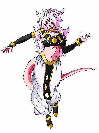 Android Majin Destruction Dragon Ball Evil Goddess